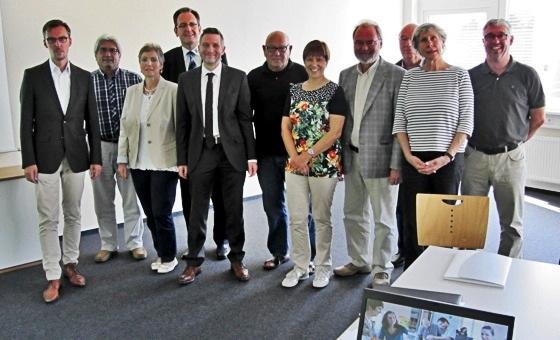 Lars Castellucci MdB und die SPD-Kreistagsfraktion Rhein-Neckar
